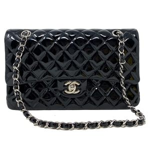 Chanel Patent Leather Medium Flap Bag
